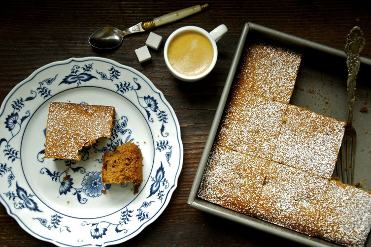 Rustic French Honey Cake