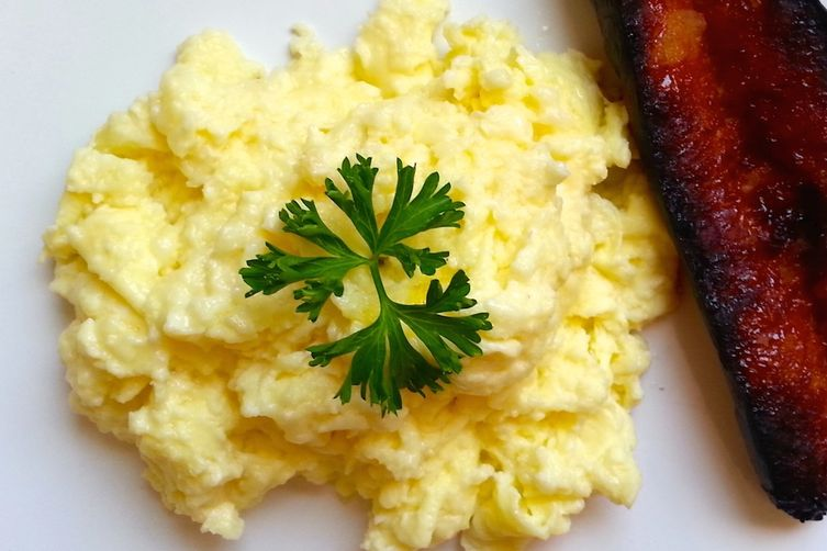 Country Style Soft Scramble with Cheese
