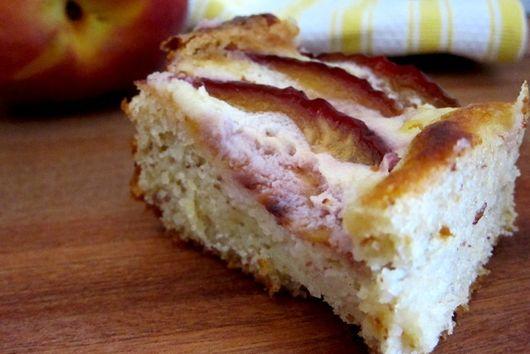 Brioche Peach Cake