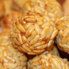 Panellets for All Saints' Day