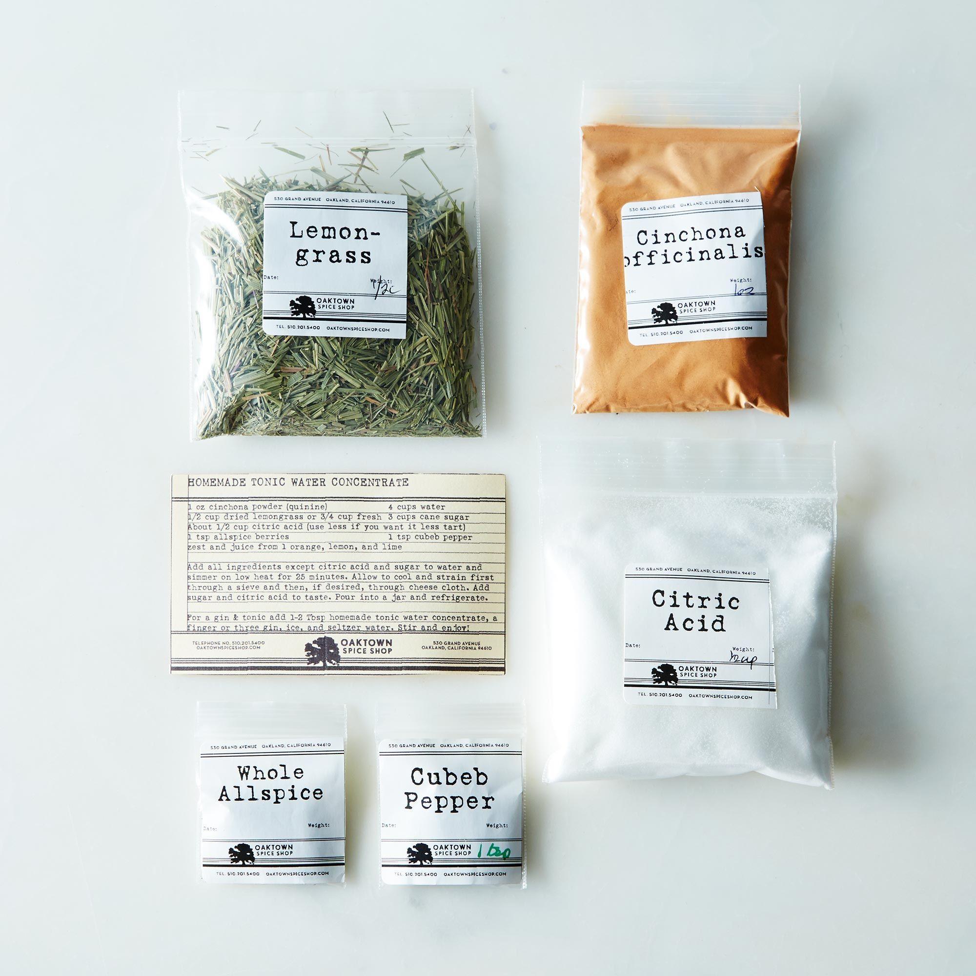 Diy tonic water kit on food52 solutioingenieria Gallery
