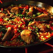 Eba02396 b1d2 4a0f a2dc b0858827e927  chicken sausauge and rd pepper paella