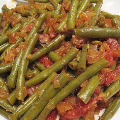 Fasolia (Greek Green Beans)