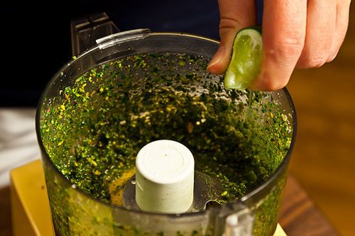 Mint-Pistachio Pesto