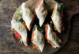 A Sped-Up Bánh Mì That Doesn't Skimp On Any Flavor (But Does Lose the Meat)