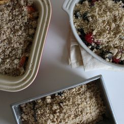 Throw a Fruit Crumble Dessert Party for Just $40