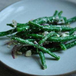 Lemony green bean salad by DragonFly