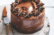 Spiced Sticky Date, Caramel, and Star Anise Cake
