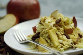 0ef87282 5def 4fa7 a818 c10d80ed5e88  apple and cabbage salad with apple molasses dressing 550x366