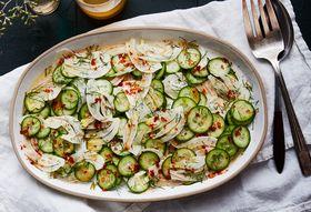 A No-Fuss, Spicy Cucumber & Fennel Salad To Help You Escape Food Comas