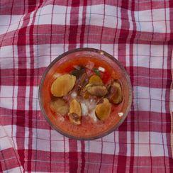 Watermelon Tomato Gazpacho