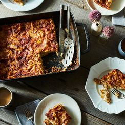 I Would Like to Fall Face-First into This Noodle Kugel