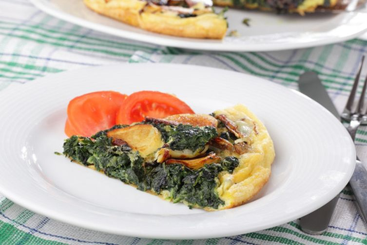 Spinach and Artichoke Frittata Recipe on Food52
