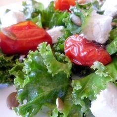 Kale & Roasted Tomato Salad