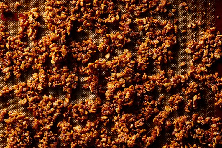 Caramelized Rice Krispies