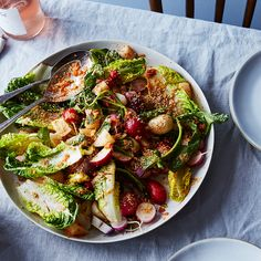 April Bloomfield's Steamed and Raw Radish Salad with Kimchi and Sesame