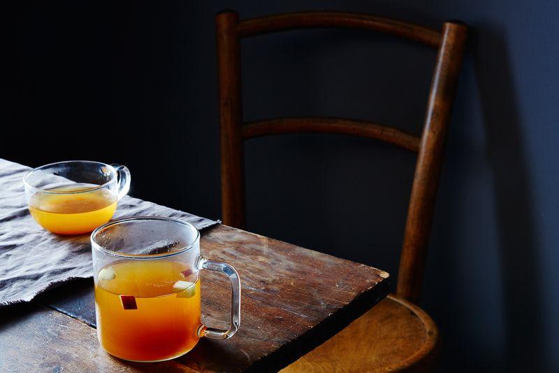 Hot Spiced Drunken Apple Cider