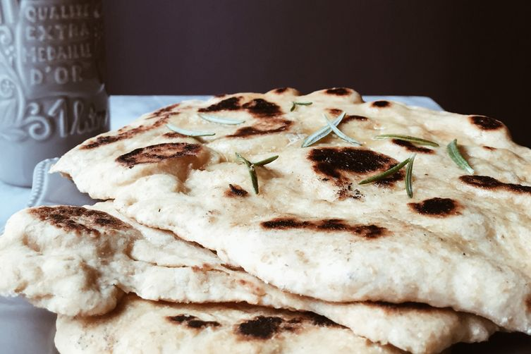 Homemade Whole Wheat Naan