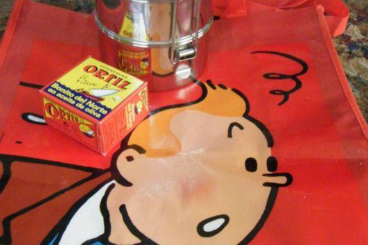 The Tintin Tiffin Salade Niçoise
