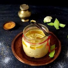 Mango and mustard sauce
