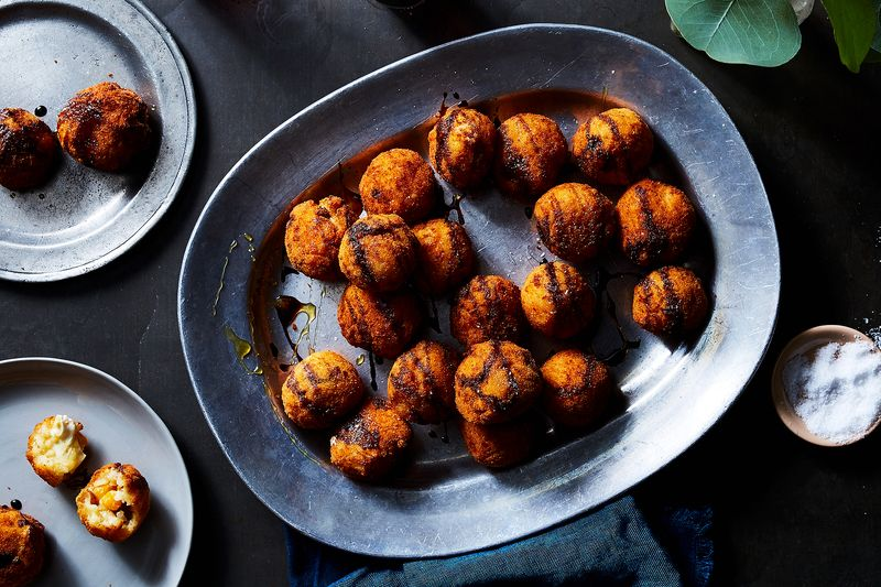 Make Deep-Fried, Cheese-Stuffed Rice Balls Over and Over Again—No Recipe Needed