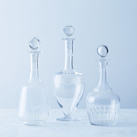 Vintage French Liquor Decanters