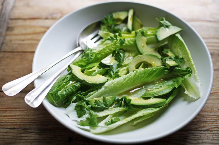 Romaine and Avocado Salad