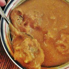 Cardamom Carrot Meatball Soup