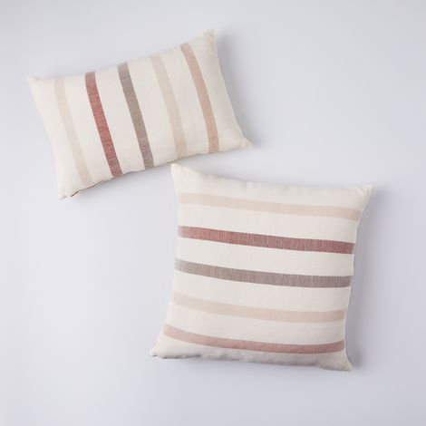 Sun-Faded Stripe Pillows