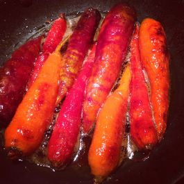 Honey Butter Glazed Carrots