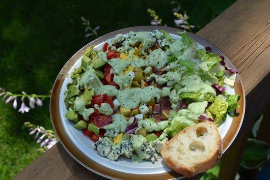Double Avocado Cobb Salad