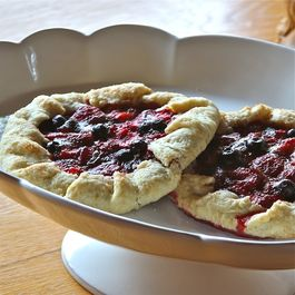 Strawberry Cardamom Galettes