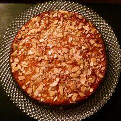 Flourless Parsnip and Sweet Potato Cake
