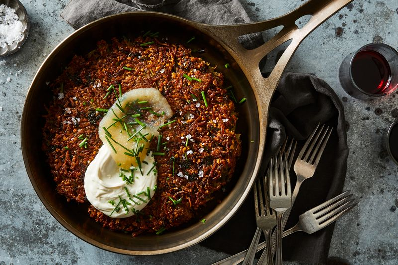 A Giant Skillet Latke to Win 'Em All—Plus 14 Other Hanukkah Recipes