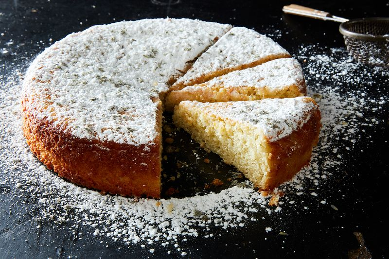 """This Tender Lemon Cake Does """"The Whole Lavender Thing"""" Right"""
