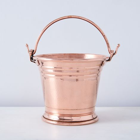 Vintage Copper Large Wine Chiller, Late 19th Century