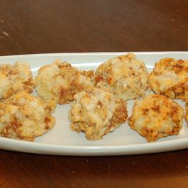 Louisiana Cheese and Sausage Balls
