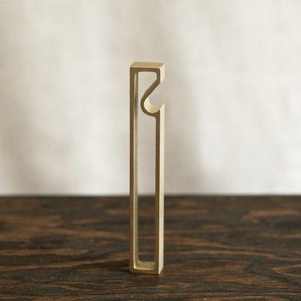 """""""Frame"""" Brass Bottle Opener"""