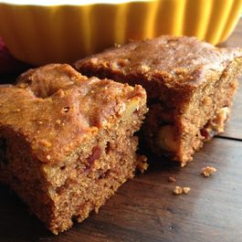 Date Walnut Cake (No eggs)