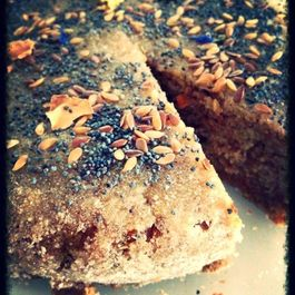 Dense and Moist Orange Peel & Almond Cake