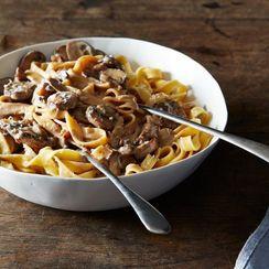 Dinner Tonight: Creamy Mushroom Pasta