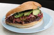 Steak and Bean Torta