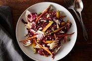 Carrot and Radicchio Salad with Fig Balsamic Vinaigrette