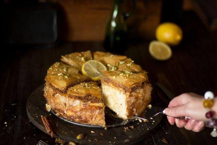 Baklava Cheesecake Fusion