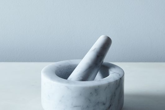 Natural Stone Mortar & Pestle