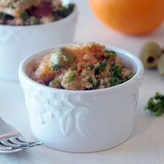 Millet Tabouli with Cara Cara Oranges and Green Olives