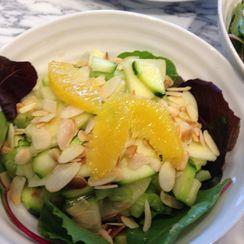 Green Apple, Raw Zucchini, Celery, Lemon Vinaigrette Salad