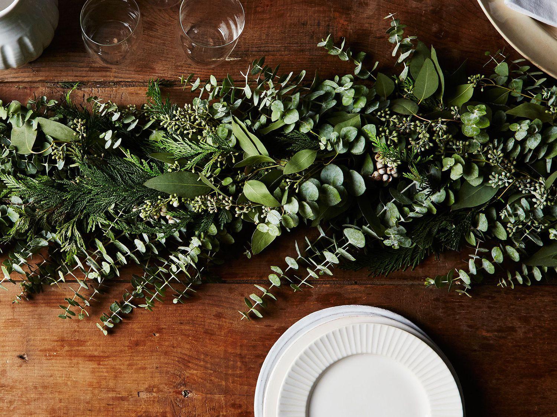 Cedar & Eucalyptus Garland on Food52