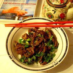 Mongolian Lamb (or Beef)