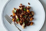 Dinner Tonight: Red Quinoa Salad with Spicy Lime Vinaigrette
